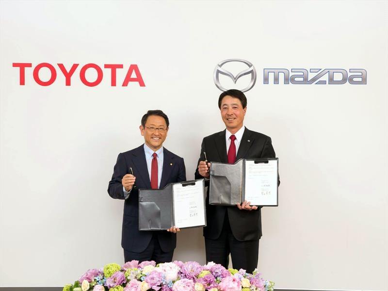 Toyota y Mazda se asocian para construir una planta en Estados Unidos