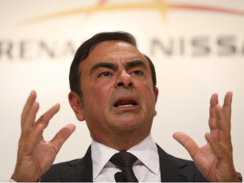 Carlos Ghosn renuncia como CEO de la alianza Renault-Nissan-Mitsubishi