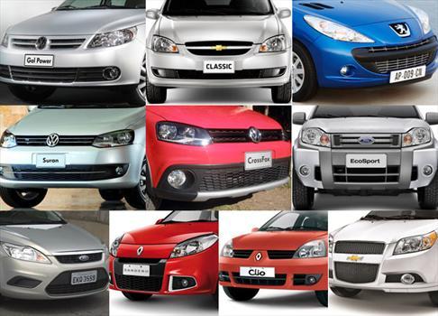 Top 10: los autos más vendidos de Argentina en Enero de 2012