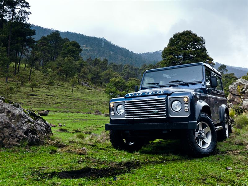 Land Rover Defender SW 90 2012 a prueba