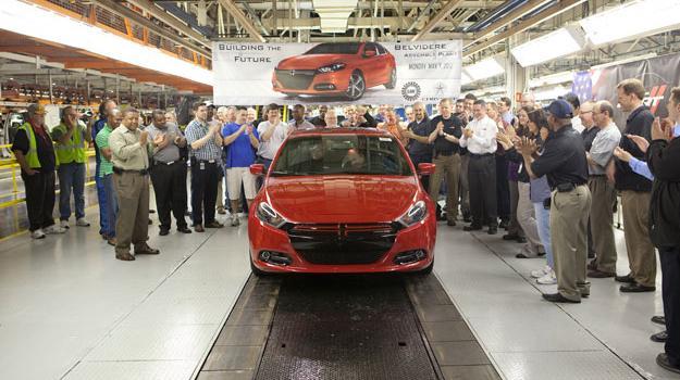 Inicia la producción del Dodge Dart 2013 en EUA