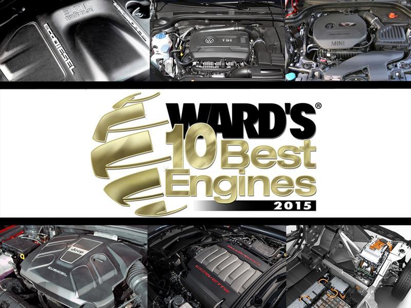 Los 10 mejores motores de 2015 según Ward´s