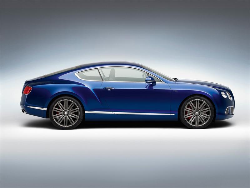Bentley Continental GT Speed 2013, el vehículo de producción más rápido de la firma