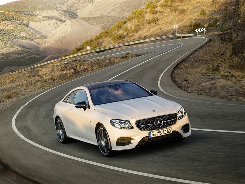 Mercedes Benz Clase E Coupe 2017 en Chile, renovado resplandor