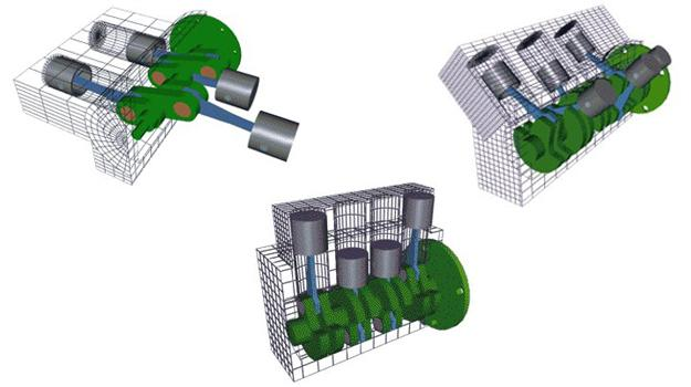 ¿Conoces cuáles son las diferentes configuraciones de un motor?