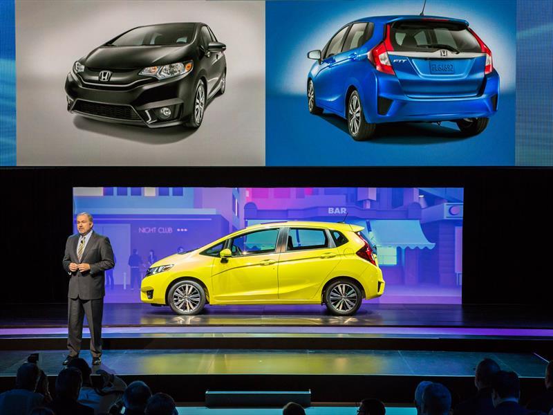 Honda Fit 2015, de México para toda América