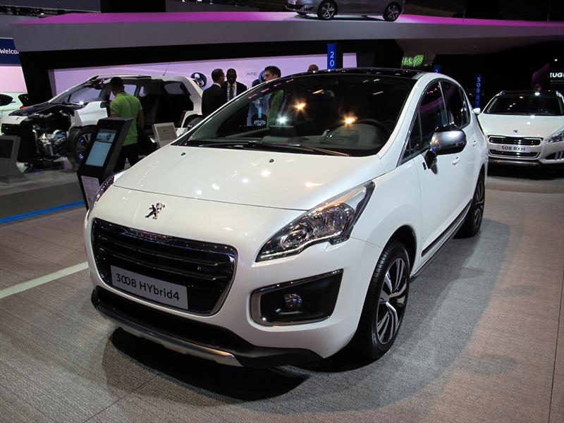 Salón de Frankfurt 2013 - Peugeot 3008 2014 se presenta - Noticias ...