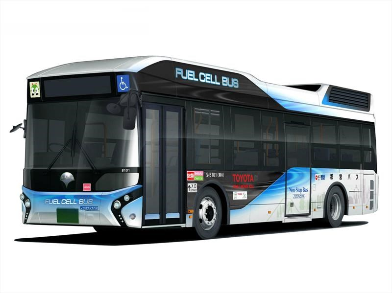 Autobús de pila de combustible de Toyota será usado por el gobierno de Tokio