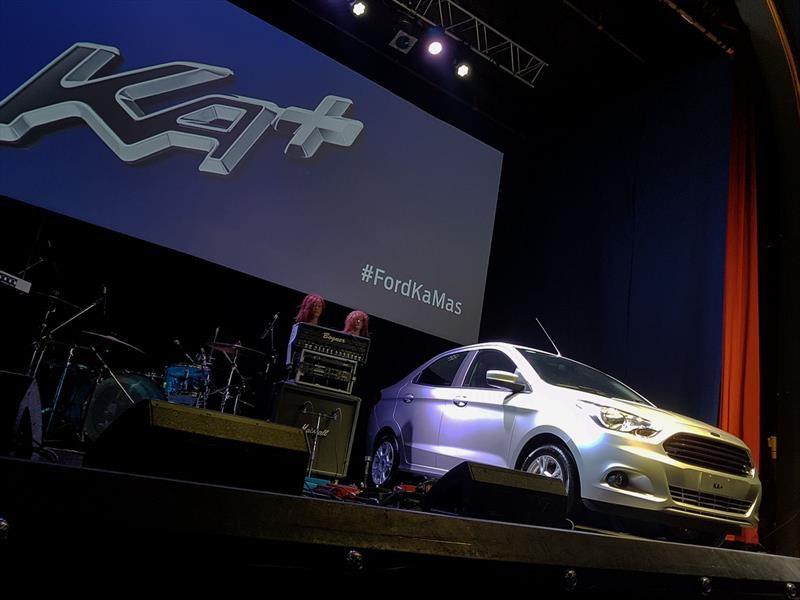 El nuevo Ford Ka+ se lanza en Argentina