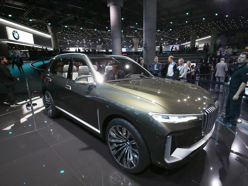 BMW Concept X7 iPerformance, el lujo hecho SUV