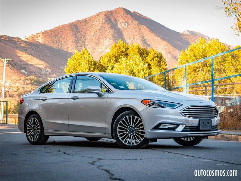 Test Drive: Ford Fusion 2.0 SE EcoBoost 2017