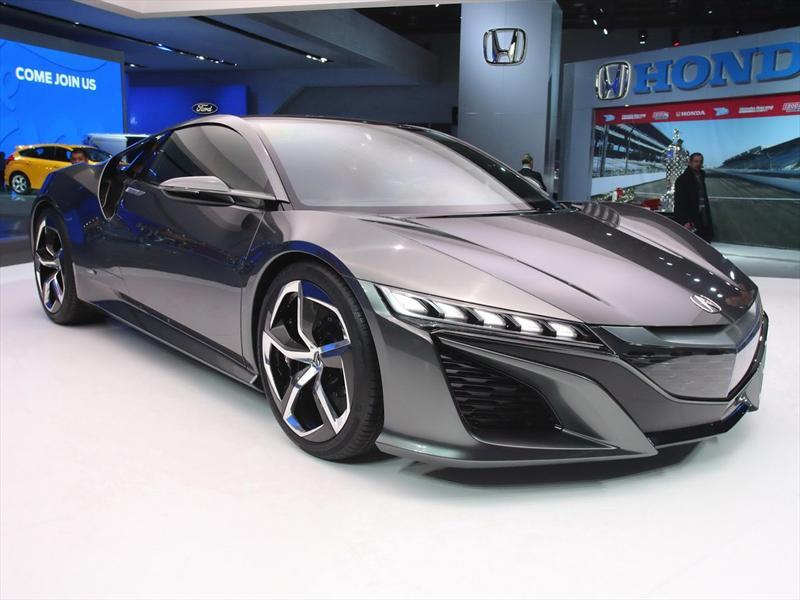 Salón de Detroit 2013 - Acura NSX Concept II, rediseñado y con ...