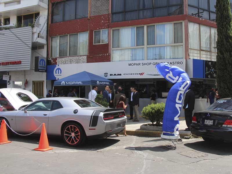 Mopar inaugura su sexta tienda en México