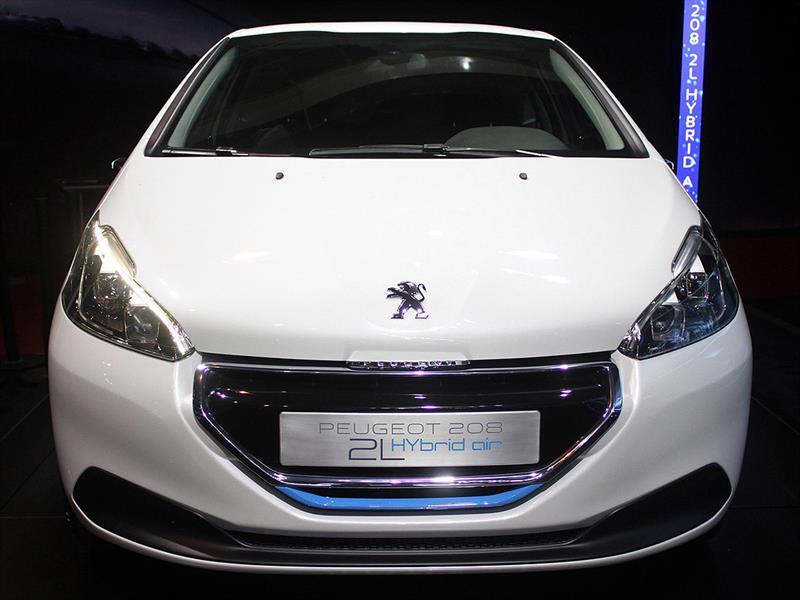 Peugeot 208 Hybrid Air 2L se presenta