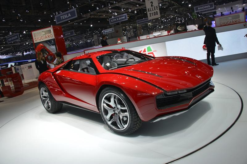 Italdesign Giugiaro Parcour Concept, alma de Lamborghini