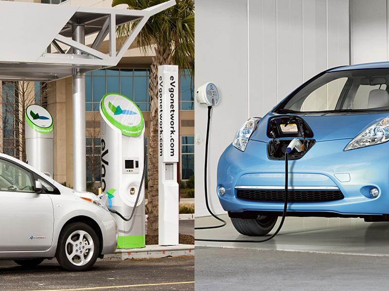 Nissan, Toyota, Honda y Mitsubishi desarrollarán infraestructura de carga