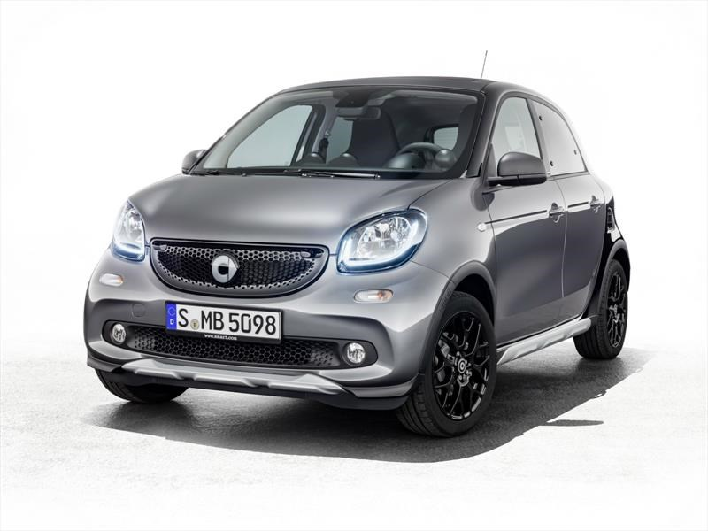 Smart ForFour Crosstown, un citycar desarmable