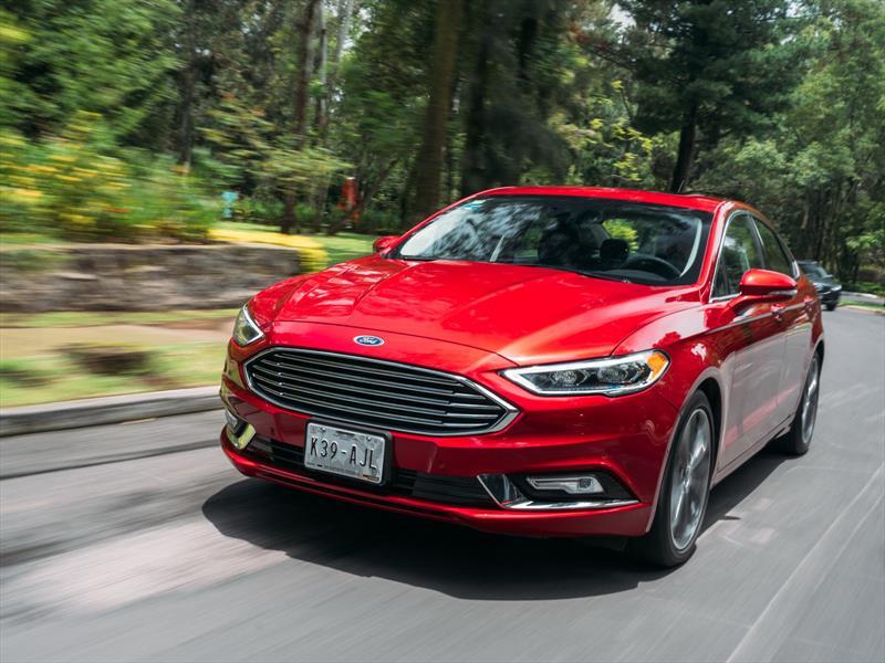Ford Fusion 2017 a prueba