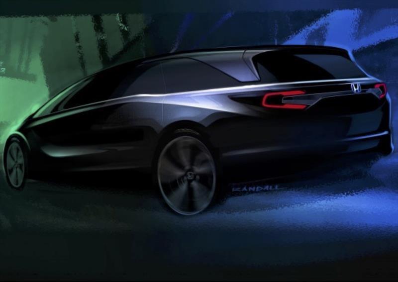 Honda Odyssey 2018, adelanto de la nueva generación