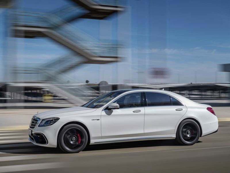 Mercedes-AMG S63 2018, ahora con motor más pequeño