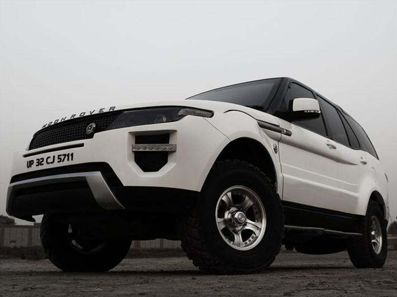 Tata Safari se transforma en un Range Rover Evoque