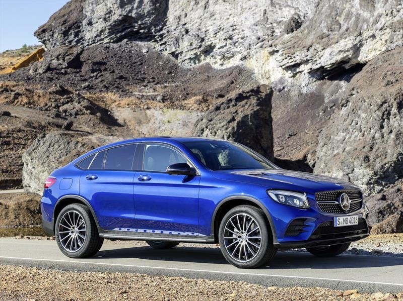 Mercedes-Benz GLC Coupé, a ponerle freno al BMW X4