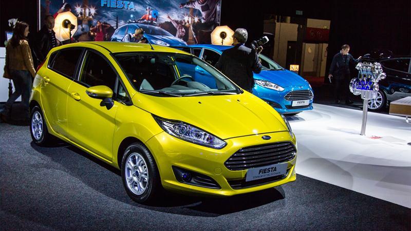 Ford Fiesta 2013 se presenta en el Salón de París