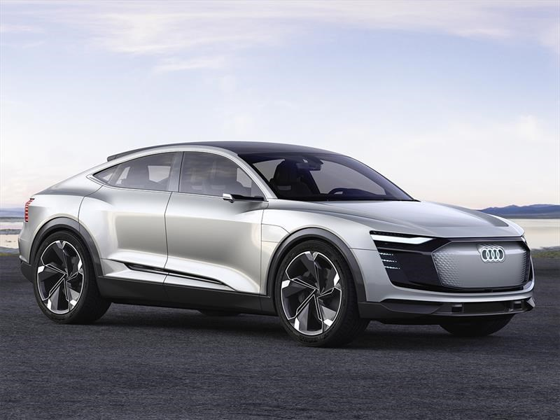 Audi e-Tron Sportback Concept, el anti Tesla de los cuatro anillos