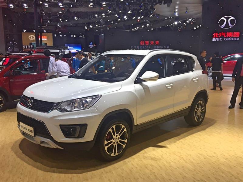 BAIC X35 2018, aparece un nuevo SUV chino