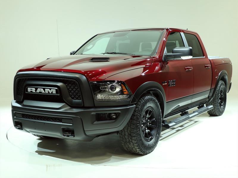 La RAM 1500 Rebel se viste de rojo en EE.UU.