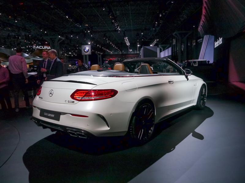 Mercedes-AMG C63 Cabriolet, lujo y potencia al aire libre