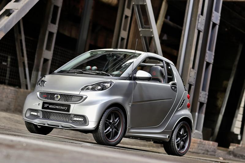 smart ForTwo Brabus 10th Anniversary Edition para celebrar una d&#233;cada