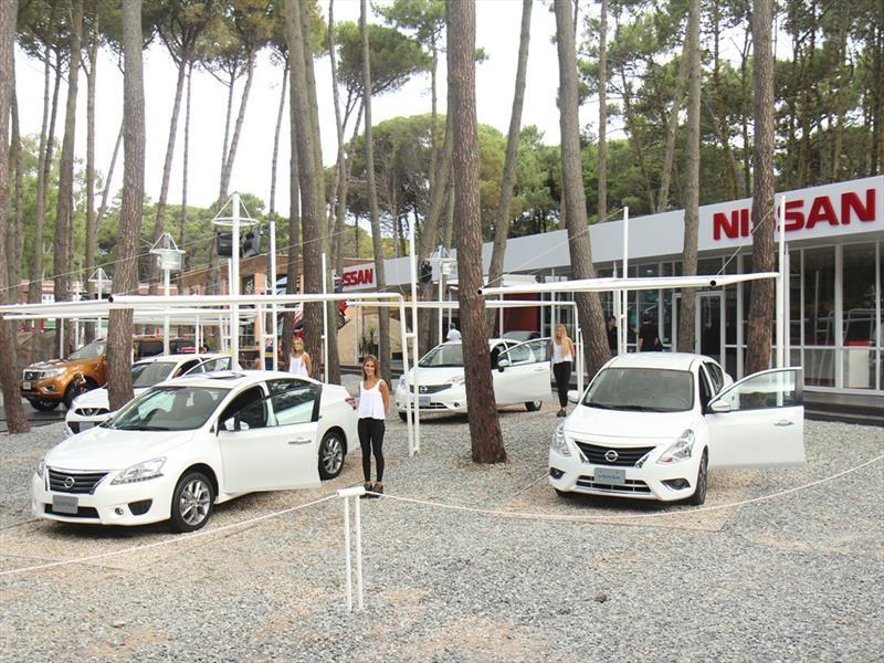 Verano 2017: Nissan realiza su despliegue de fuerza en Cariló