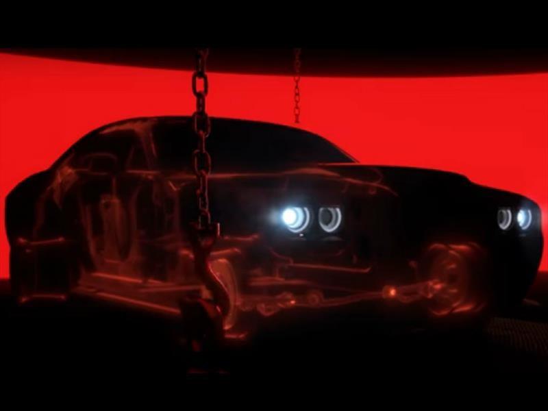 A solas: el Dodge Challenger SRT Demon tendrá sólo un asiento