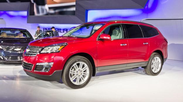 Salón de New York 2012 - Chevrolet Traverse 2013 debuta en el Salón