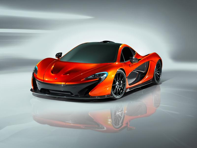 McLaren P1 Concept  se presenta en el Sal&#243;n de Par&#237;s 2012