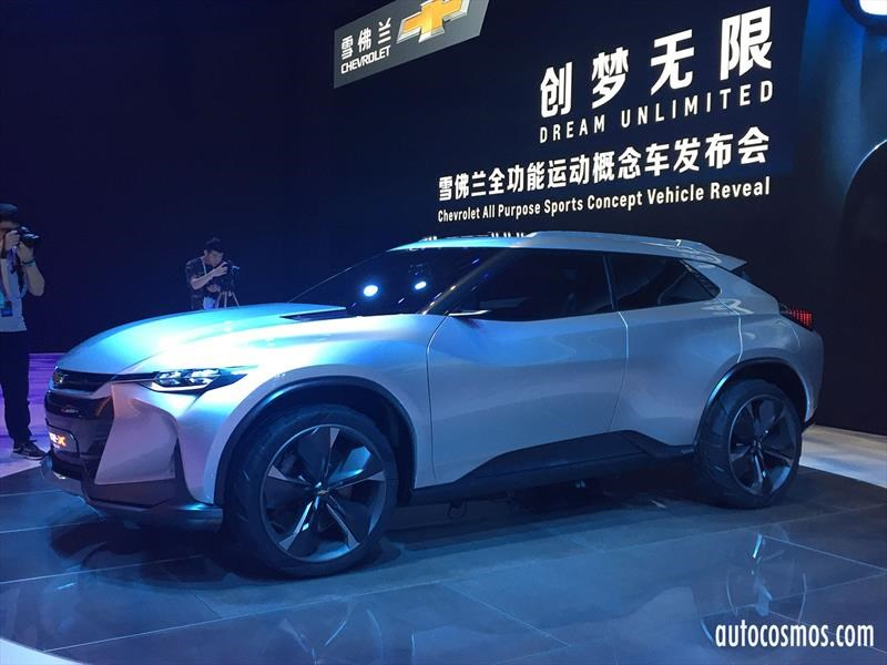 Chevrolet FNR-X Concept, multipropósito, híbrido y autónomo