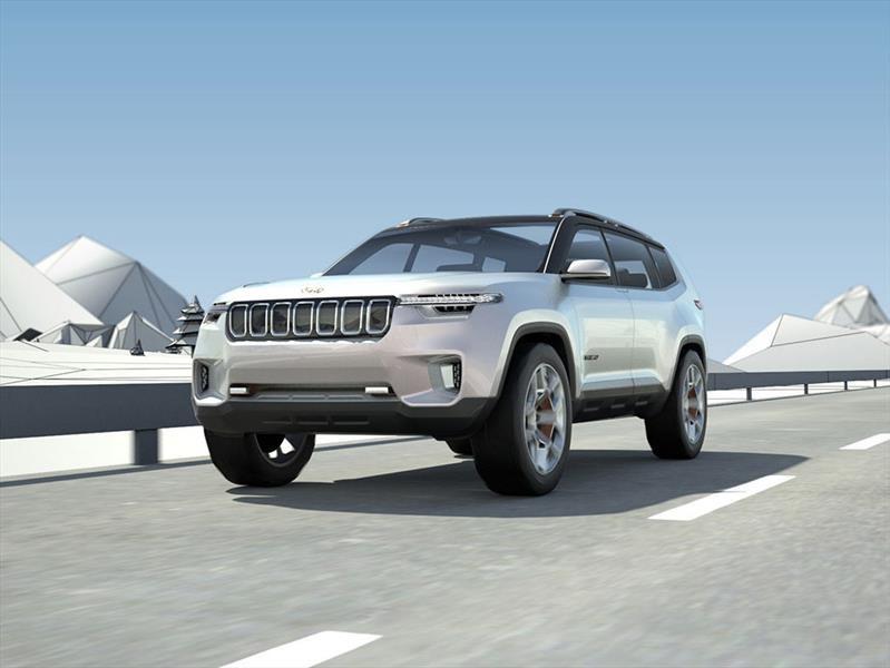 Jeep Yuntu Concept, para familias aventureras