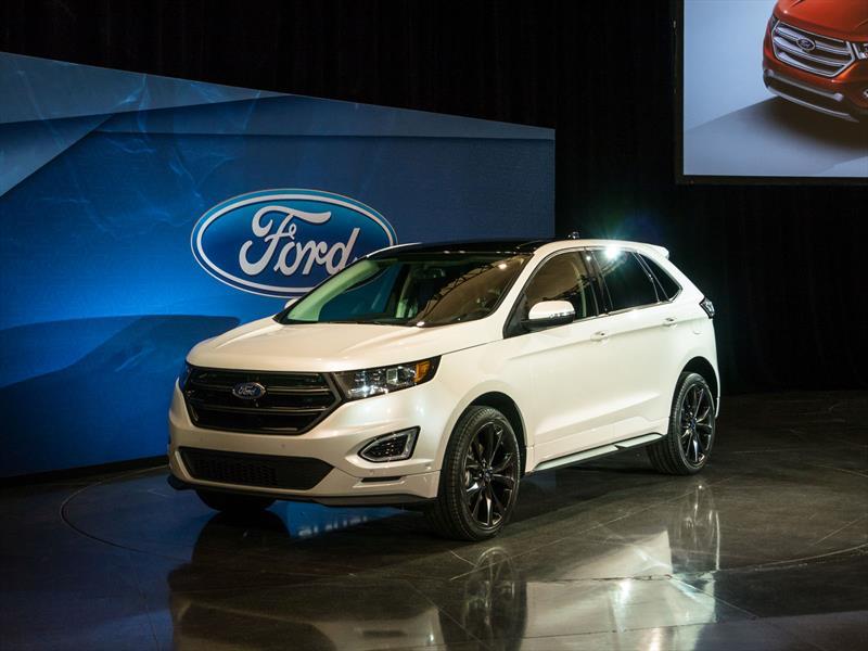 2014 Ford Edge Se >> Ford Edge 2015 se presenta - Autocosmos.com