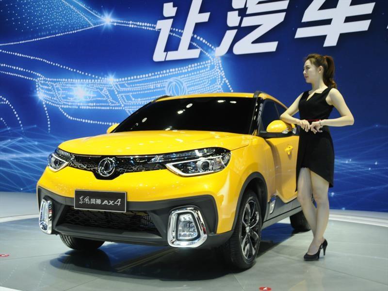 Los clones chinos más descarados del Auto Show de Shanghái 2017