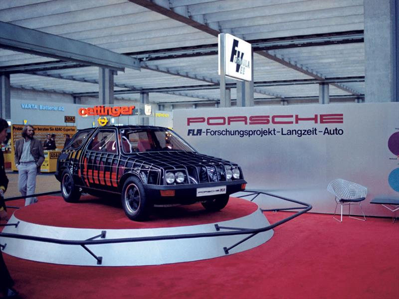Porsche FLA, el auto indestructible