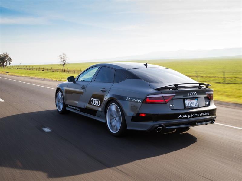 Audi A7 Sportback autónomo recorre de Silicon Valley a Las Vegas
