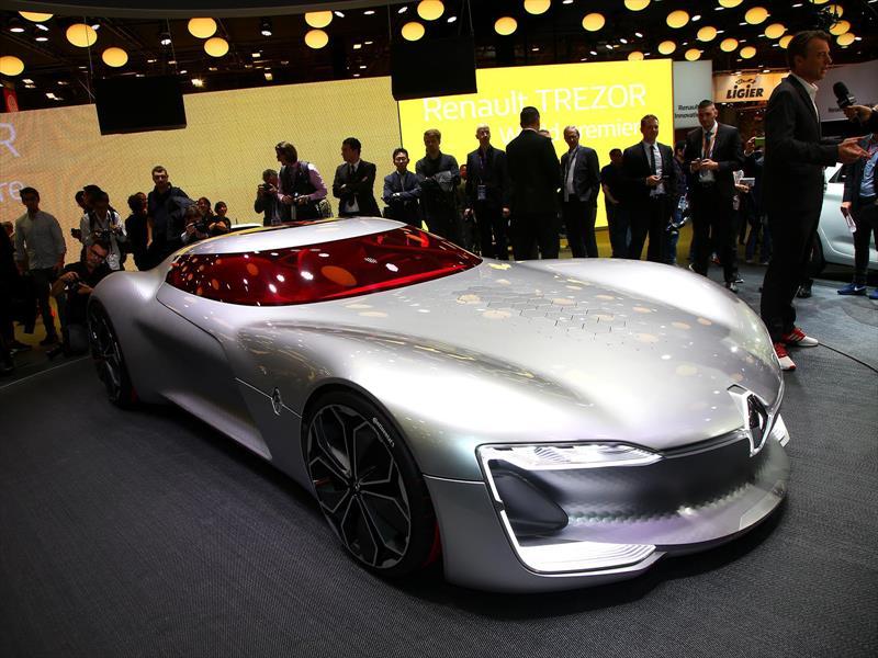 Salón de París 2016 - Renault Trezor Concept, puissance électrique ...