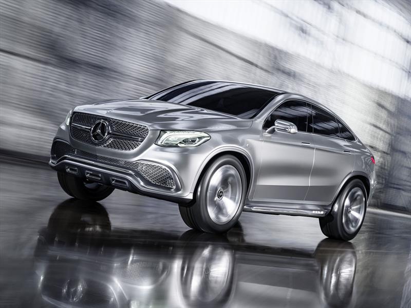 Mercedes Benz Concept Coupé SUV, la marca de la estrella quiere su X6