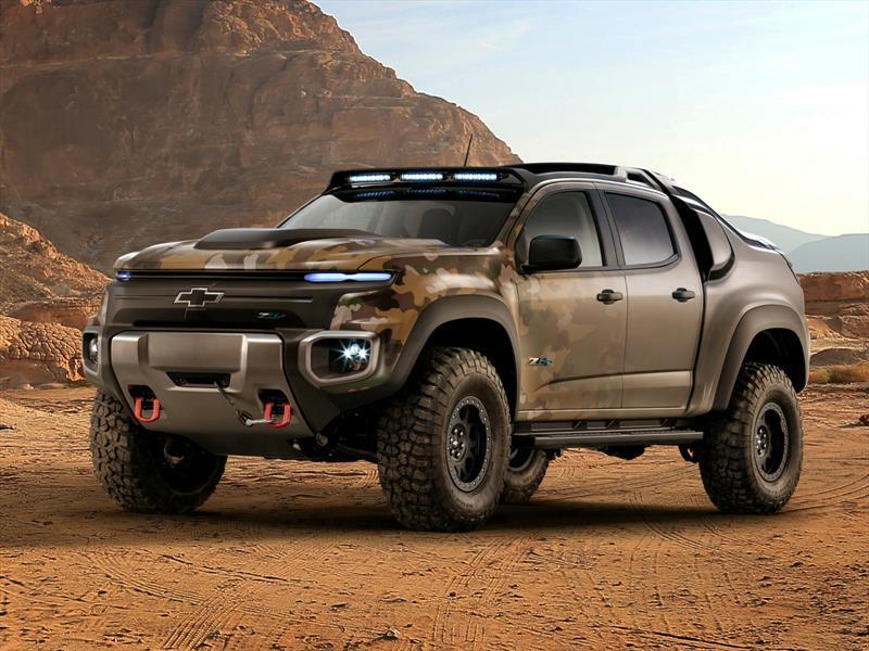 Chevrolet Colorado ZH2, militar y cero emisiones