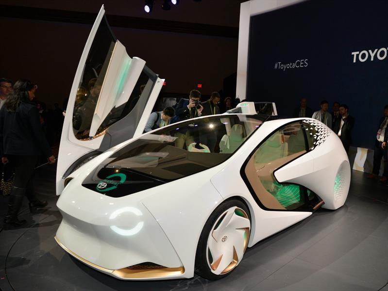 CES 2017: el Toyota Concept-i es el auto del futuro