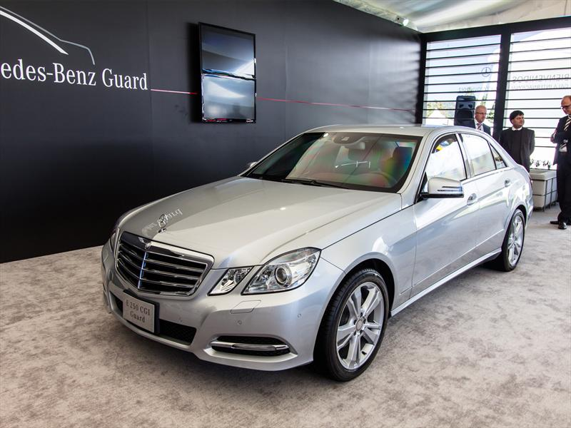 Mercedes benz e250 cgi guard se presenta en m xico en for Mercedes benz com mx mexico
