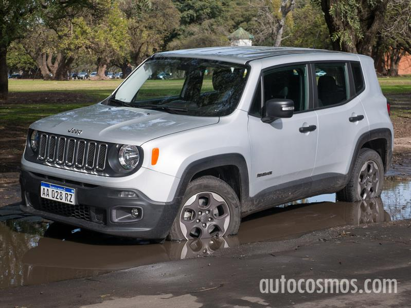Prueba Jeep Renegade 1.8L Sport Plus