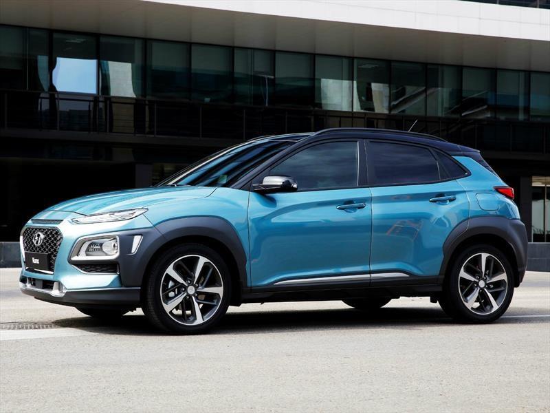 Hyundai Kona 2018 es el nuevo SUV pequeño
