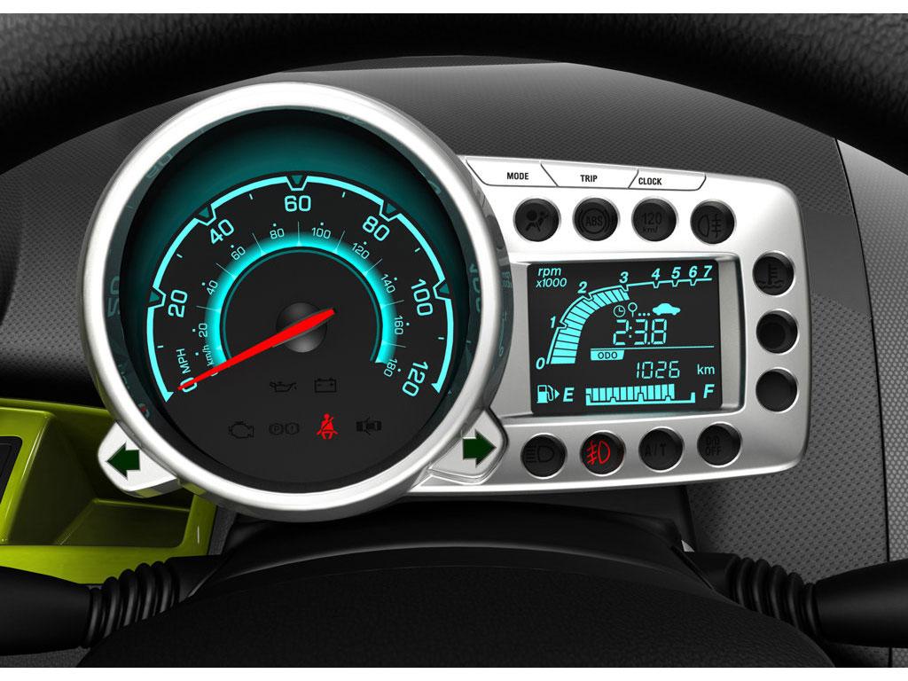 Chevrolet Spark Gt L 237 Der En Seguridad Autocosmos Com